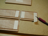 Taping-off Interior Miter Joints