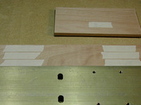 Taping the Miter Joints